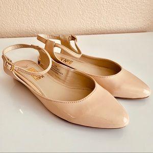 Mix No.6 Beige Flats Sandals